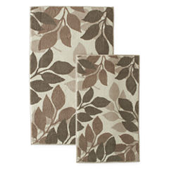HOME EXPRESSIONS LEAVES 2 PIECE