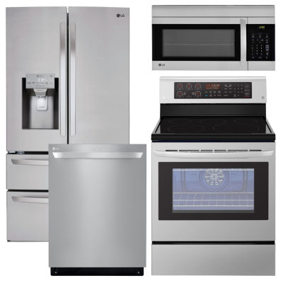 Electric Kitchen Package Stainless Steel