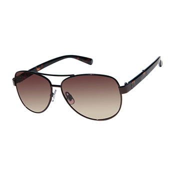 12d5727c2c Liz Claiborne Womens Half Frame Aviator UV Protection Sunglasses. Add To  Cart. Only at JCP