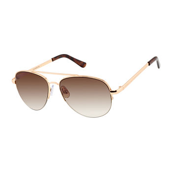 e43bf941dcc Liz Claiborne Womens Half Frame Aviator UV Protection Sunglasses. Add To  Cart. Only at JCP