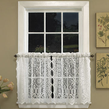 curtain kitchen penney jcpenney clearance swags sheer curtains lace