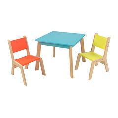 KidKraft® Highlighter Modern Table and 2 Chairs Set