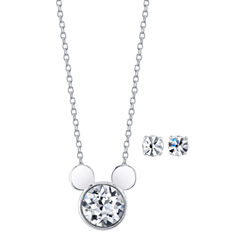 Disney Womens 2-pc. Necklace Set