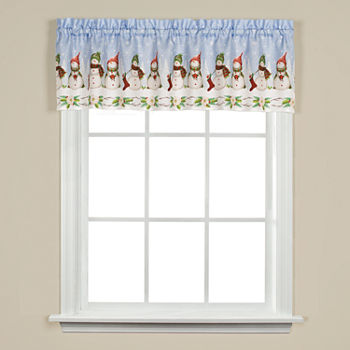 Christmas Kitchen Curtains For Window