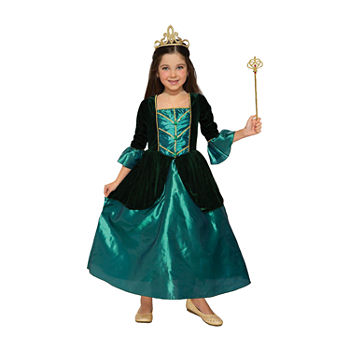 Child Princess Evergreen Girls Costume