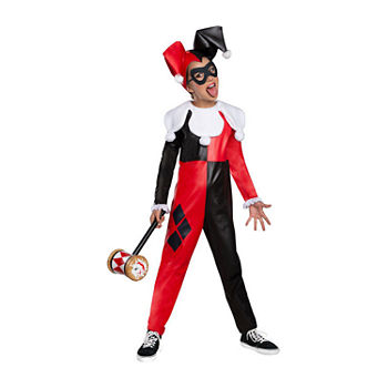 Child DC Superhero Harley Quinn Girls Costume