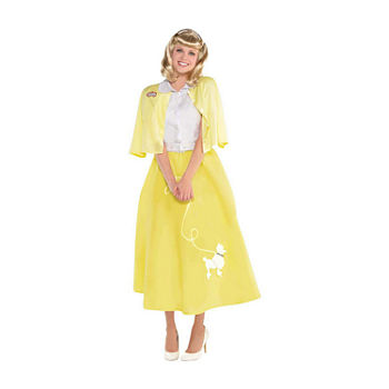 Child Grease Summer Nights Sandy Girls Costume