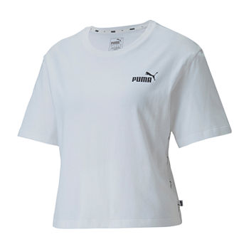 Puma Womens Round Neck Short Sleeve T-Shirt
