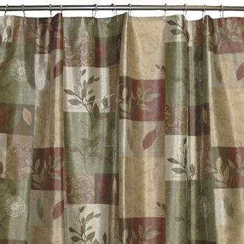 Shower curtains shower curtains for bed bath jcpenney - Jcpenney bathroom window curtains ...