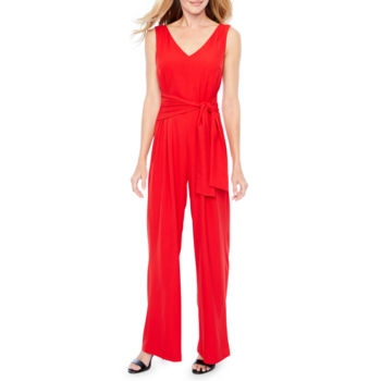 Women Red Jumpsuits Rompers For Women Jcpenney