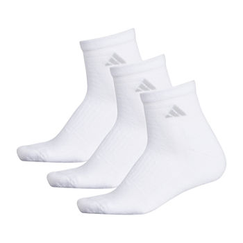 adidas 3 Pair Quarter Socks Womens