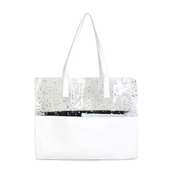 Olivia Miller Clear White Tote Bag