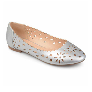 be9c1b37eaa Silver Women s Flats   Loafers for Shoes - JCPenney