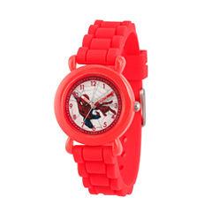 Spiderman Boys Red Strap Watch-Wma000231