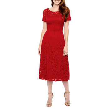 Lace Red Dresses For Women Jcpenney