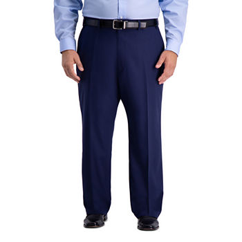 Haggar B&T Active Series Suit Sep Mens Stretch Classic Fit Suit Pants - Big and Tall