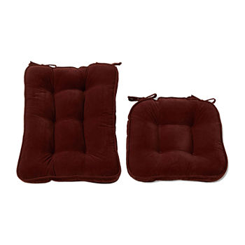Enjoyable Greendale Home Fashions Standard Hyatt Rocking Chair Cushion Set Gamerscity Chair Design For Home Gamerscityorg