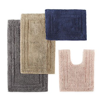 Liz Claiborne Luxury Egyptian Cotton Bath Rug