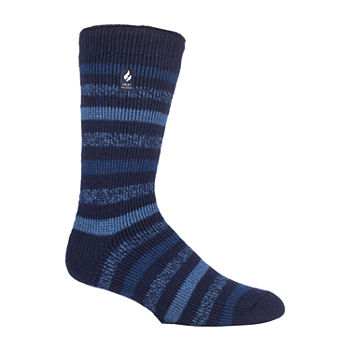 Heat Holders  Mens 1 Pair Crew Socks