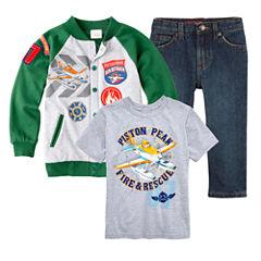 Disney Planes Graphic Tee, Jacket or Arizona Jeans – Boys