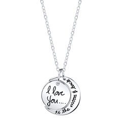 Footnotes Womens Brass Pendant Necklace