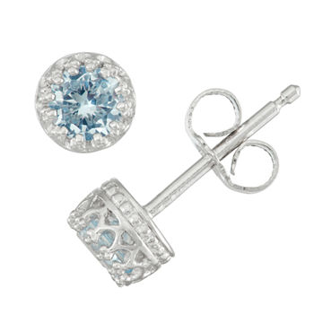 d5825583c Aquamarine Earrings Kids' Jewelry for Jewelry & Watches - JCPenney