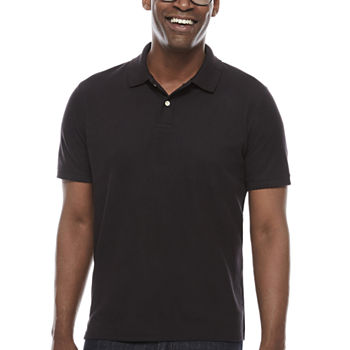 5d01b06f0 St. John's Bay Mens Short Sleeve Polo Shirt
