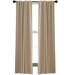 Saville Rod-Pocket Back-Tab Curtain Panel