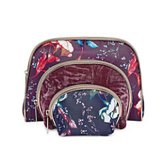 Liz Claiborne 3-pc. Makeup Bag