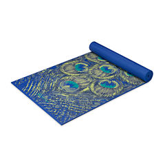 Gaiam Sapphire Feather Yoga Mat (6MM)