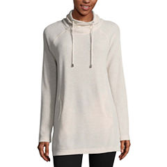 St. John's Bay Active Thermal Tunic- Talls