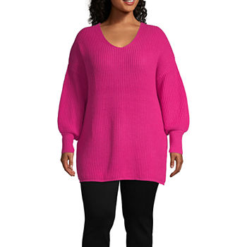 06ff6dcc0b Boutique + Pink Sweaters for Shops - JCPenney