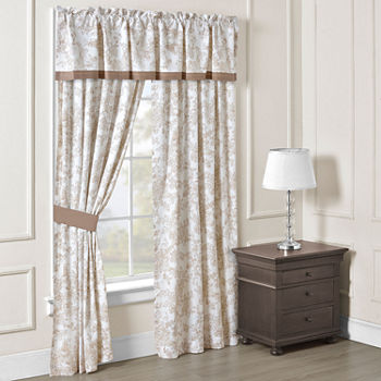 84 Inch Beige Bedroom Curtains & Decor for Bed & Bath - JCPenney