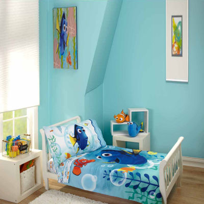 finding dory toddler bedding set