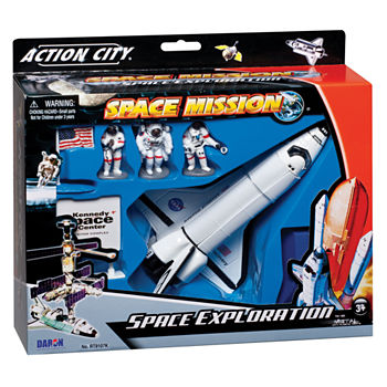 Nasa Die-Cast Space Shuttle With Accessories