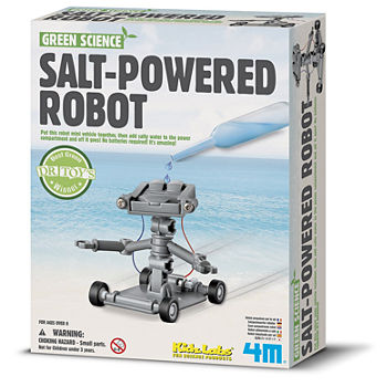 4M Salt Water Powered Robot Science Kit - Stem