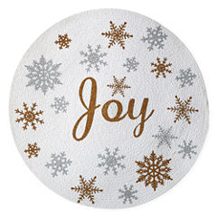 North Pole Trading Co. Joy Snowflake 4-pc. Placemat