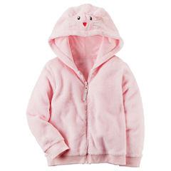 Carter's Animal Ears Hoodie-Preschool Girls