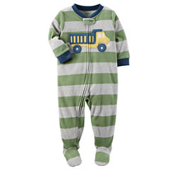 Carter's Long Sleeve One Piece Pajama-Toddler Boys