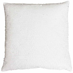 Thro by Marlo Lorenz Leather All Over Sequin ThrowPillow