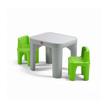 Plastic Kids Table + Chairs Toddler Furniture for Baby - JCPenney