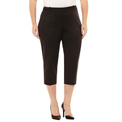 Liz Claiborne Emma Crop Pants-Plus