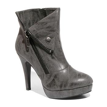 e90f62a3a642ff Two Lips Too Womens Nara Dress Boots Wedge Zip Heel · (2). Add To Cart. Few  Left