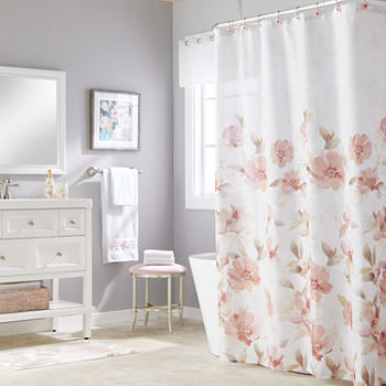 Pink Shower Curtains For Bed Bath