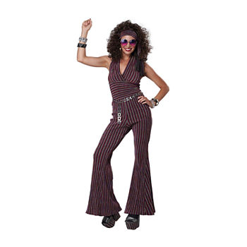 70'S Halter Pant Suit Womens Costume