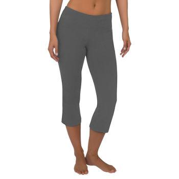 69843d9f3cd Misses Size Workout Capris Capris   Crops for Women - JCPenney