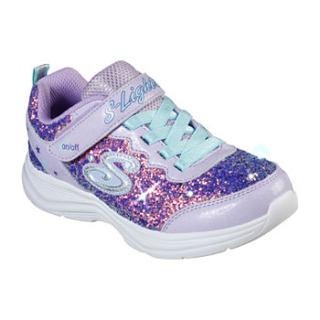 Skechers Glimmer Kicks-Glitter N' Glow Little Kid/Big Kid Girls Sneakers