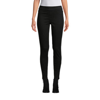 St. John's Bay Womens Mid Rise Skinny Jeggings - Tall
