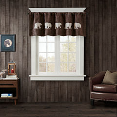 Bear Rod-Pocket Valance