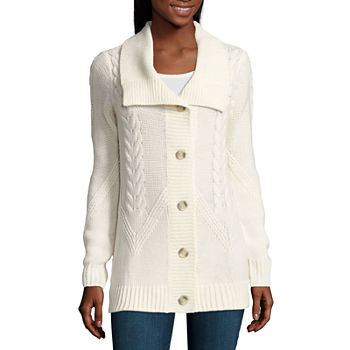 White Sweaters & Cardigans for Women - JCPenney